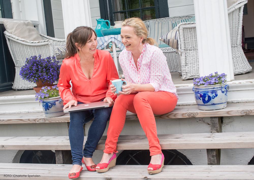Camilla Reimers og Larisa Boos