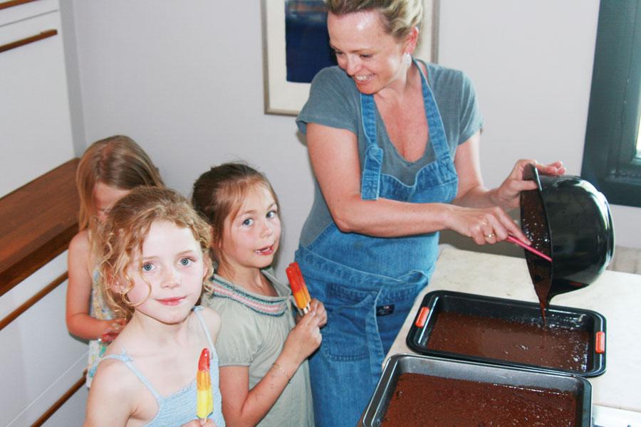 Camillas supergode sjokoladekake